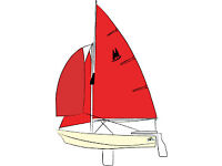 Wanted, Mirror Dinghy Spinnaker, chute and pole