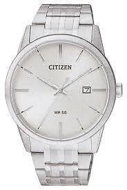 Citizen Men's BI5000-52A New Quartz White Dial Wrist Watch