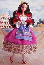 NEW BARBIE Fashion  Dolls of World Series Special Ed 1992 ITALIA