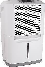 FRIGIDAIRE  70 Pint Dehumidifier w/ Effortless Humidity Control, color White. SUPER SALE $129.00 NO TAX.