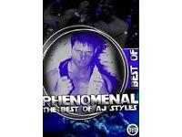 AJ Styles wrestling DVD