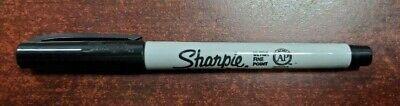 Sharpie Ultra Fine Point Black Permanent Marker Single pack of 1 Fresh Stock NEW ()