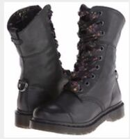 Dr. Martens with ribbon laces size 8