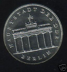 5 M DDR BB-Tor 1989 , selten