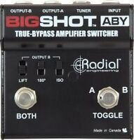 I am looking for a Radial Big Shot ABY Amp Switcher pedal