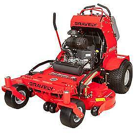"ZERO TURN MOWER SAVE $2000 36"" CUT GRAVELY PRO STANCE LAWNMOWER"