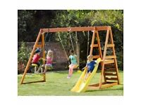 Outdoor Swing Set Play Centre