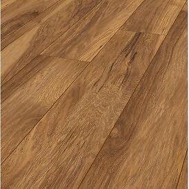 Krono vintage classic (Appalachian Hickory) laminate flooring 10mm £24 per pack