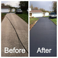 Driveway sealing / repairs (High pressure penetration)