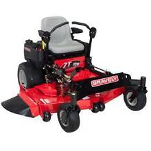 ZERO TURN MOWER RIDE ON LAWNMOWER GRAVELY HD52 SAVE $1999 Acacia Ridge Brisbane South West Preview