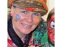 Reliable Face Painter for your party or event! Fantastic Face Painting and Cool Balloon Modelling