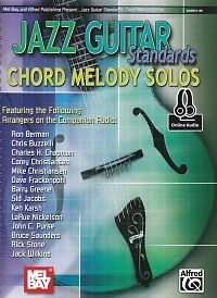 JAZZ GUITAR STANDARDS Chord Melody Solos + online