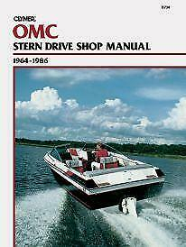 Mercruiser Manuals - OMC Sterndrive 1964-1986