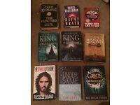 Various hardback book bundle, includes Gods and Warriors SIGNED BY AUTHOR.