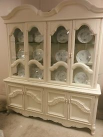 Charming Shabby Chic Display Cabinet