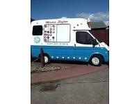 mr whippy ford transit 2.5 diesel ice cream van