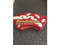 brand new Bendomino is a strategy game similar to regular dominoes