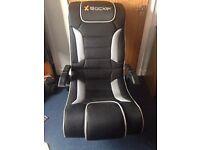 xrocker gaming chair/speaker