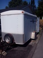 6ft by 10ft enclosed trailer