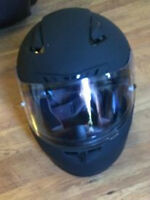 motorcycle gear, helmet, gloves, jacket