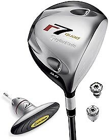 Taylormade R7 Driver Quad HT with adjusting tool - 10.5 degree