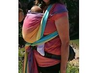 Little frog woven wrap baby sling 4,6 m