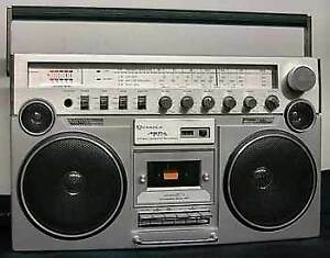 WANTED candle JTR 1286 boombox