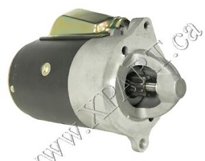 New FORD Starter for AMC AMBASSADOR,AMERICAN,AMX,GREMLIN SFD0101