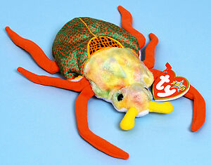 Scurry the cockroach Ty Beanie Baby stuffed animal