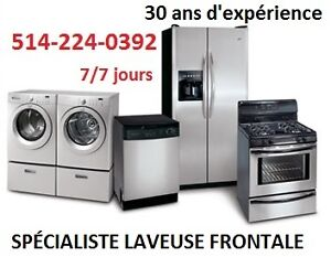 REPARATION LAVEUSE SECHEUSE 514-224-0392 WASHER DRYER REPAIR