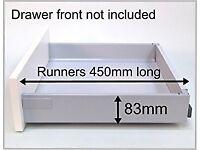 Blum Tandem single drawer set