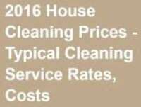 INDEPENDENT HOUSE CLEANERS = Begin Charging $17-$20 per hour