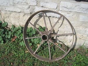 Antique Steel Farm machinery Wheels