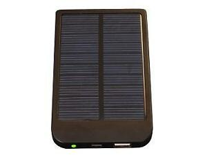 Solar Rechargeable 2600mAh Power Bank