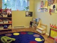Traditional Early learning combined with Montessori Program