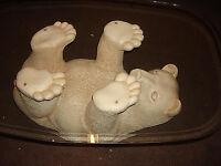 Large Polar Bear Glass Coffee Table Ideal Floor Centre