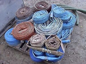 Discharge hose for water pumps