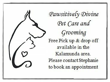 Pawsitively Divine Pet Care and Grooming Gooseberry Hill Kalamunda Area Preview