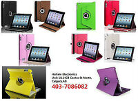 Brand new 360 degree rotable cases for iPad and Samsung tablet