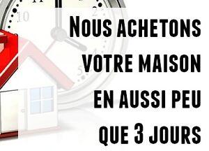Achete maison CASH - Acheteur recherche maison