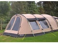 outwell pheonix 7 atc air tent footprint and carpet included
