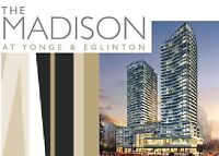 Madison Condo 2 bedrooms 2 washrooms for sale!! in Midtown NEW