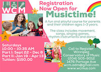 Group Music Lessons for Young Children at WCM