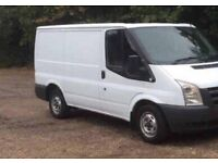 56 Reg ford transit long mot and tax