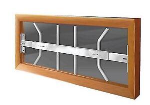 3 Grillages de sécurité fenêtres (42 à 54 pouces)
