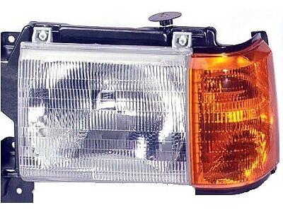 Fits 87 88 89 90 91 Ford F150 F250 F350 Truck Headlight Driver NEW No Trim