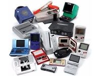 WANTED all video games and consoles,playstation,sega,nintendo,xbox,ps1,ps2,gamecube,snes,nes,etc