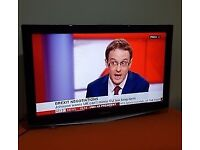 Samsung 40 Inch LCD HD TV + FREEVIEW + REMOTE + Wall Bracket. Good Con. NO OFFERS