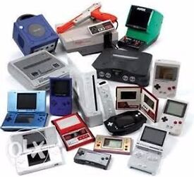 WANTED video games and consoles nintendo sega playstation xbox etc ps1,ps1,snes nes n64 etc