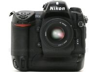 """Wanted """"Mint Condition"""" Nikon D2X or D2Xs Digital SLR Camera"""